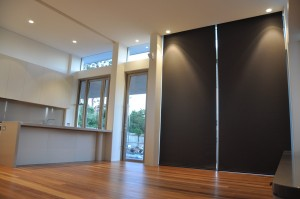 Blockout Motorised Roller Blinds