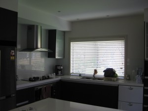 Cedar Painted Venetian Blind
