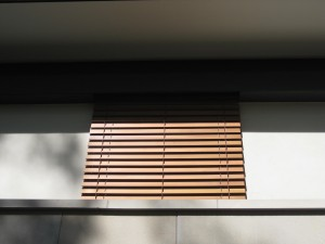 Motorised Cedar Retractable Blind