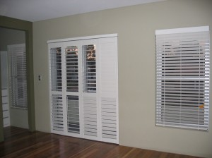Thermalite Bi-folding Shutters & Venetian Blinds to match