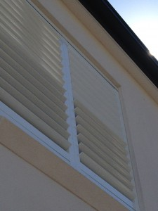 Aluminium Fixed Shutters