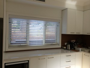 Tuscany Venetian Blind with 63mm flat slats