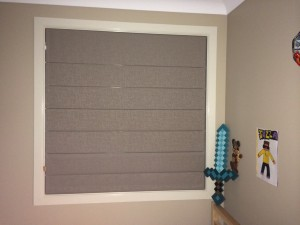 Blockout Roman Blind