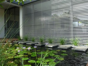Aluminium Retractable Venetian Blind